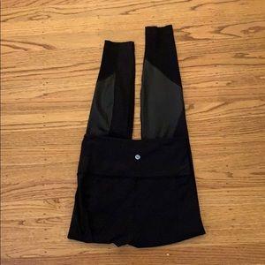 lululemon athletica Pants - Wunder Under High Rise in Shine- Size 6